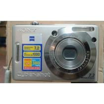 Cámara Sony Caber Shot, Seminueva Memoria Extraible 1.0 Gb.
