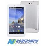 Celular Quad Core Tablet 7 Pulg Touch Doble Camara 8gb+gps