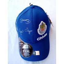 Gorra - Cachucha Original Firmada X El Equipo De Las Chivas