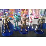 Figuras Muñecos Caballeros Del Zodiaco Set X 5 Personajes