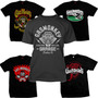 Camiseta Gas Monkey Garage Dallas Texas Em Silk Nota 1000