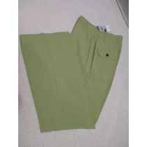 Limpia De Closet~talla 6~pantalon Verde~jm Collection~nuevo