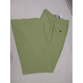 Limpia De Closet~talla 6~pantalon Verde~jm Collection~nuevo