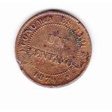 Moneda De Un Centavo 1879 Chile