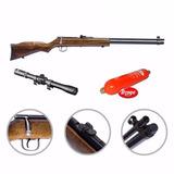 Rifle Shark Co2 6.35 Caño Largo + Garrafa + Mira 4x20