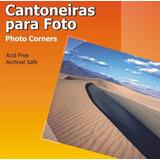 Cantoneiras Transparente Para Foto-blister Com 156 Unidades