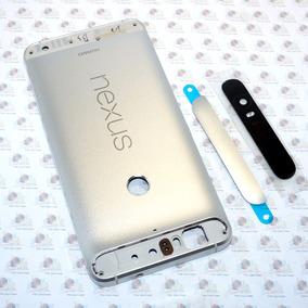 Kit Tapa Trasera Metal Huawei Nexus 6p Nuevo Original Plata