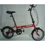 Bicicleta Plegable J Y D Rin 16