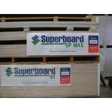 Placa Superboard 8mm 1,20 X 2,40 Cementicia Fibrocemento
