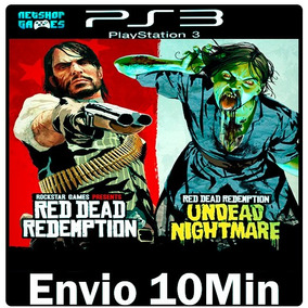 Red Dead Redemption + Undead Nightmare [** Psn Play3 Ps3 **]
