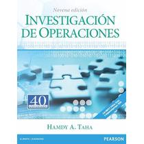 Libro: Investigación De Operaciones - Hamdy A. Taha - Pdf