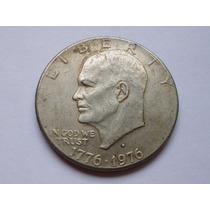 Moneda Usa 1 Dolar 1776-1976 D Eisenhower Conmemorativa