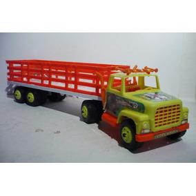 Trailer De Redilas - Camioncito Juguete Camion Modelo Escala