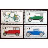 Alemania Berlín, Serie Mi 660-3 Autos Antiguos 82 Mint L5426
