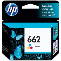 Cartucho Hp 662 Color Original Impressora Hp 3516 1516 2646