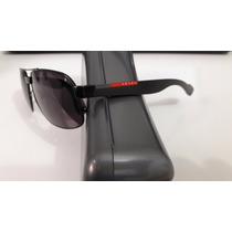 Óculos Solar Prada, Cor Preto, Made In Italy