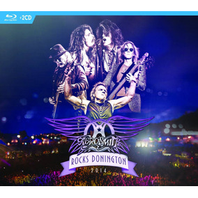 Aerosmith Rocks Donington 2014 Blu-ray+2cd Imp.new En Stock