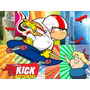 Cotillon Imprimible De Kick Buttowski + Candy Bar + Souvenir
