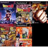 [ps2] Dragon Ball Z Para Playstation 2 (14 Juegos)