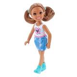 Boneca Barbie Família - Chelsea Club - Hora Do Lanche Dwj28
