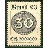 Selo Brasil,150 Anos Olhos De Boi,30,00 1993,mint.ver Descr.