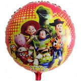 Globos Metalizados X 10 Monster High Toy Story Princesas