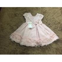 Vestido De Festa Infantil Aniversário 1 Ano