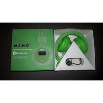 Memo Fm Stereo Radio Mp3 Player Bluetooth Auriculares
