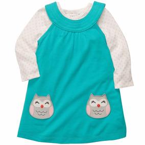 Vestido Carters Niña Conjunto Frio Con Pañalero Ml, 24 Meses
