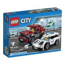 Lego City 60128 Policia, Novo, Pronta Entrega
