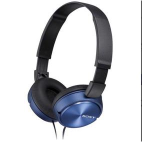 Fone De Ouvido Estéreo Com Microfone Mdrzx310ap Azul