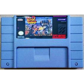 Cartucho Wild Guns Super Nintendo Fita Snes Frete Grátis