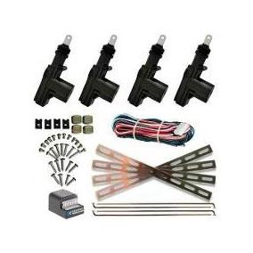 Kit Trava Eletrica Universal 4p Dupla Serventia Espaguetada