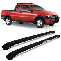 Rack Teto Travessa Eqmax Fiat Strada Adventure 2002 A 2007