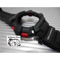 Kit Capa Pulseira Casio G-shock Mudman G-9000 G 9010 Gw 9000