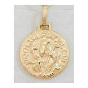 Swjoias Oferta Promoção Medalha Pingente São Bento Ouro 18k f105926a2e