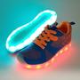 Zapatillas Tenis Con Luz Led + Envío Gratis+ Obsequio Tula