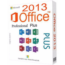 Office 2013 Pro Plus Original Español 32/64 Bits Permanente