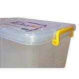 Caja Plastica Organizador C/ Ruedas 32lts (juguetes,archivo)