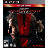 Metal Gear Solid 5 Ps3 The Phantom Pain | Digital Español