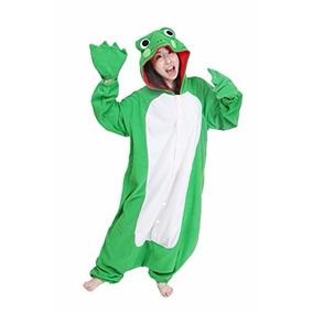 disfraz pijama de rana sapo para adultos envio gratis