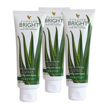 Kit Com 3 Forever Bright (gel Dental De Aloe Vera/babosa)