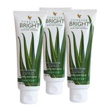 Kit Com 3 Forever Bright ( Gel Dental De Aloe Vera/babosa)