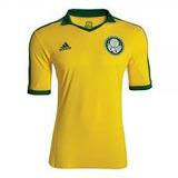 Camisa Palmeiras Amarela adidas Copa 2014