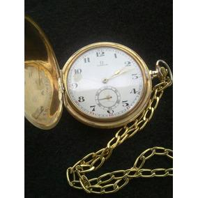 3d229fb9f5b Omega Suico Banhado Em Ouro - Relógios no Mercado Livre Brasil