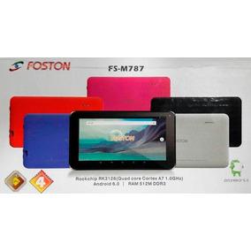 Tablet Foston 787 Quadcore Android 6.0 Tela 7 Usb Wifi Camer