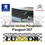 Varilla Viras Cromadas De Rejilla De Paragolpe Peugeot 307