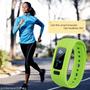 Bluetooth Smart Watch Pulsera Podómetro Paso Calorías