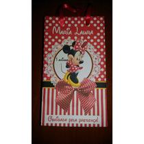 50 Sacolinhas Surpresa Personalizada Minnie Ou Mickey