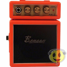 Mini Cubo Amplificador Guitarra Benson Am2 Orange - Kadu Som
